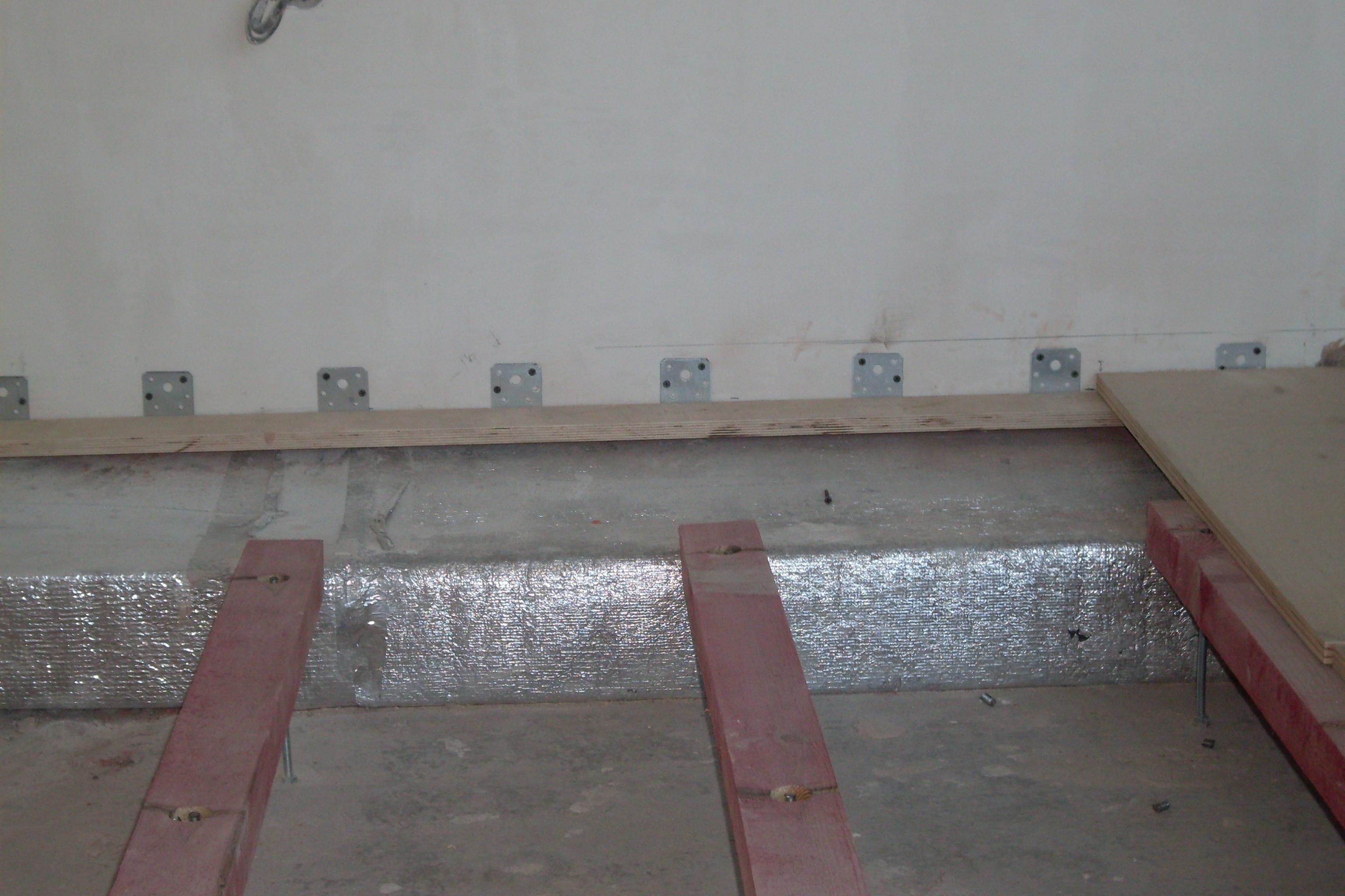 схема пола в мокрых помещениях